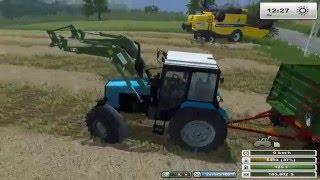 Farming Simulator 2013 (Seria 2) #24 - Kombajn na nowej mapie