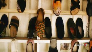 How to make African loafers shoes very fast