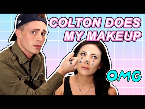 My BFF Colton Haynes Does My Makeup!!!