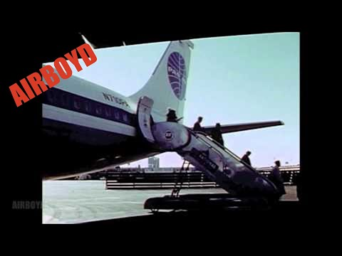 Early JFK Idlewild Airport (Partial Film)