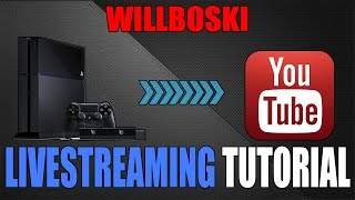 How To Livestream and Link PS4 to Youtube Tutorial QUICK AND EASY