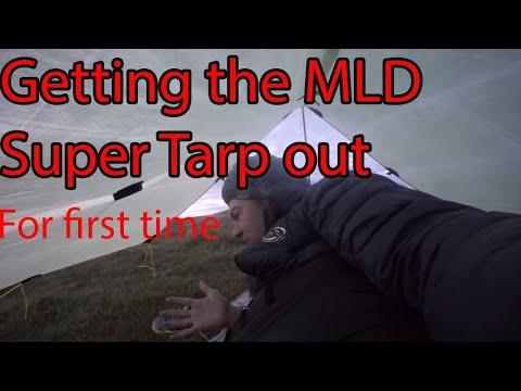 Dartmoor camp 21 in MLD Super Tarp Sept 2013