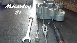 TUTO MECAVLOG#1 2K18 Réparation filetage écrou de vidange sur moteur DERBI