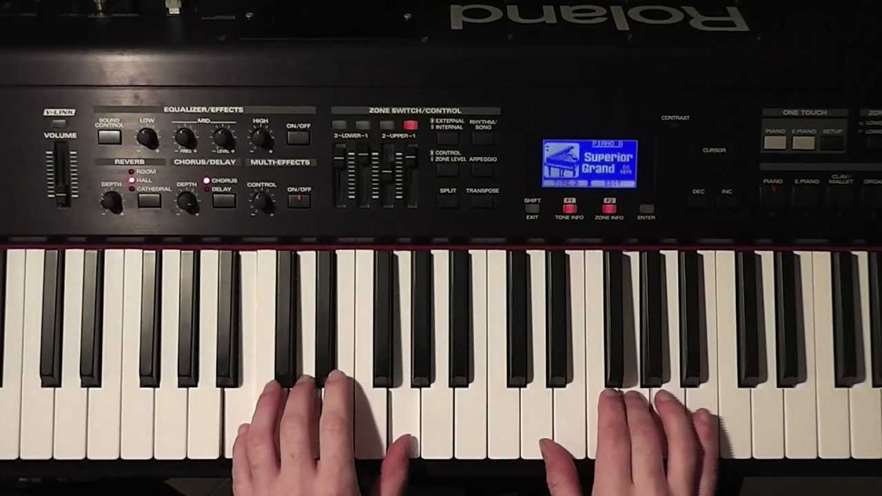 How to play oh holy night cantique de noel easy piano tutorial how to play oh holy night cantique de noel easy piano tutorial hexwebz Gallery