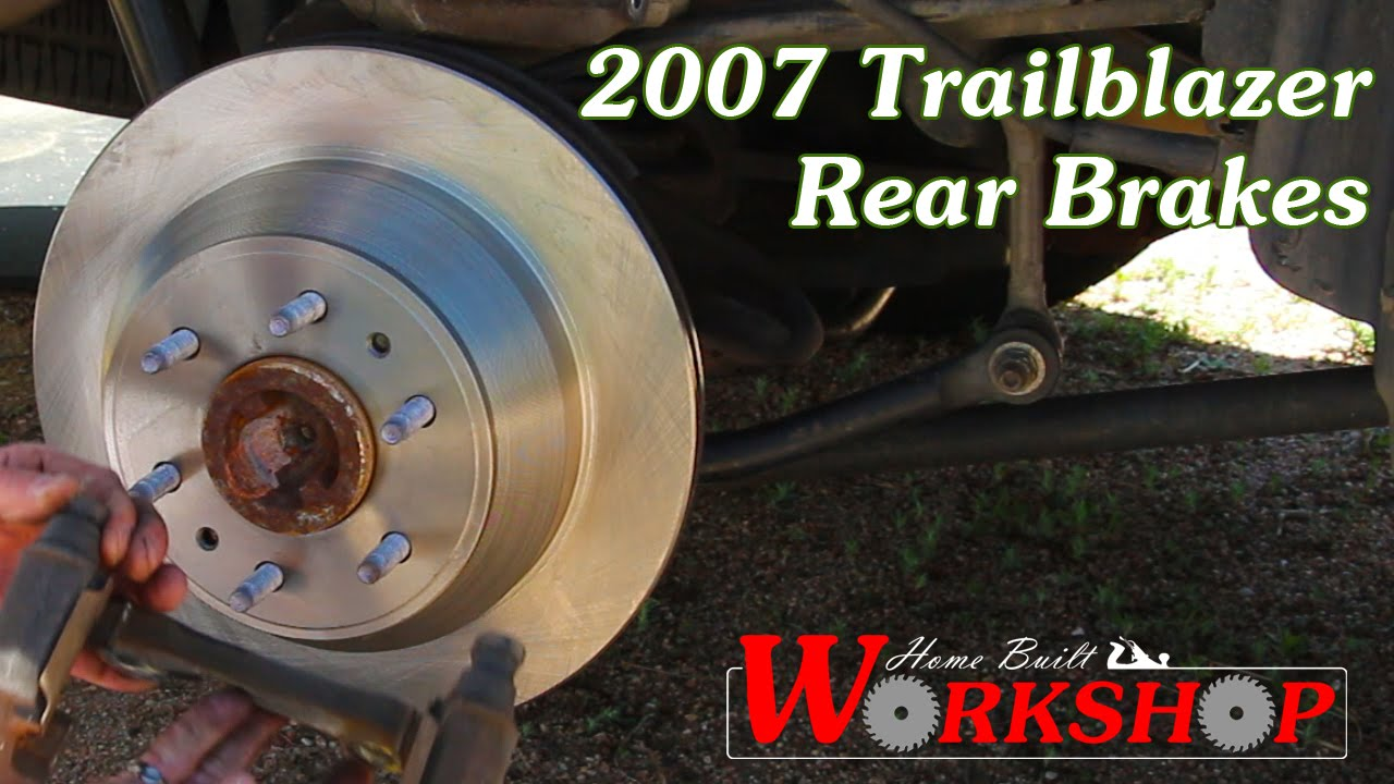 hight resolution of how to replace rear brakes on a 2007 chevy trailblazer