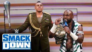 The WWE Universe boos Apollo Crews and Commander Azeez: July 16, 2021
