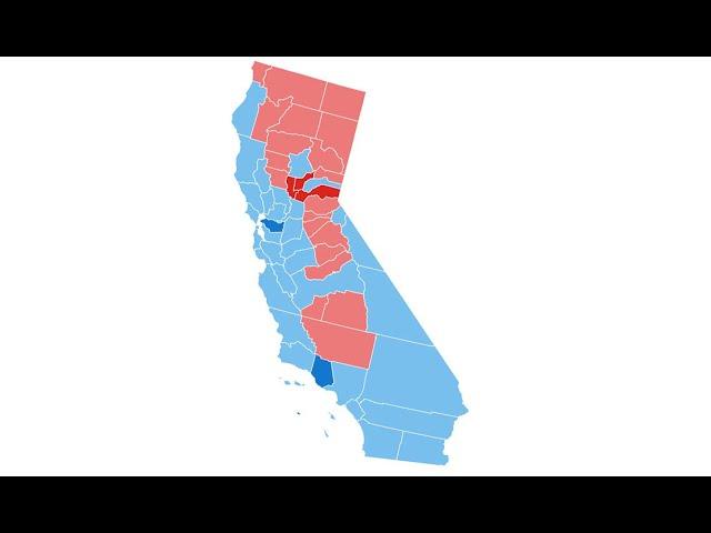 Breaking News!!! Break Up California.  Paul Preston Explains How California Can Become 2 States..