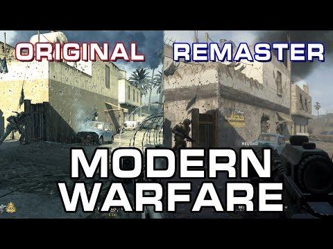 Call Of Duty Modern Warfare: Original Vs Remastered Comparison