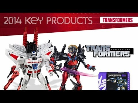 Transformers related content from Hasbro Investor Day 2014 Key Products presentation