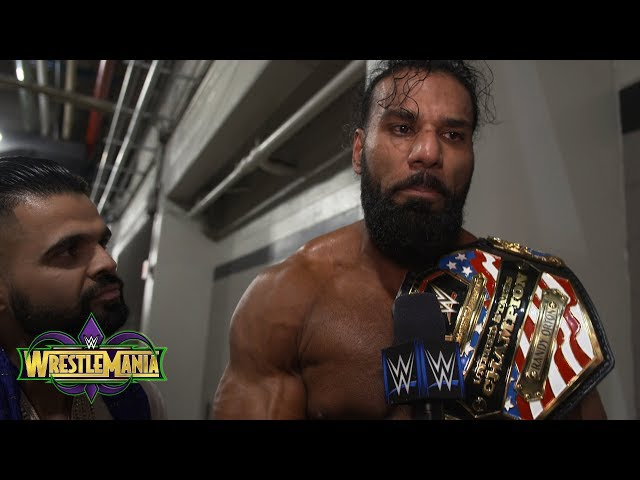 Jinder Mahal will be U.S. Champion for as long as he desires: Exclusive, April 8, 2018