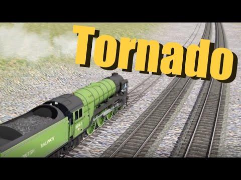BR A1 Tornado vs LNER P2 Prince of Wales in Trainz 2020  