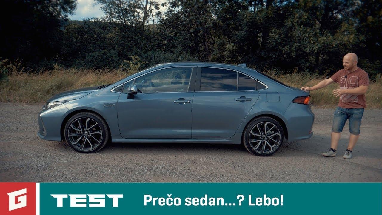 TOYOTA COROLLA Hybrid sedan - TEST - GARAZ.TV - YouTube