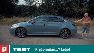 TOYOTA COROLLA Hybrid sedan - TEST - GARAZ.TV