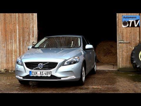2013 Volvo V40 D2 Summum - Autobahn-Test (1080p FULL HD)