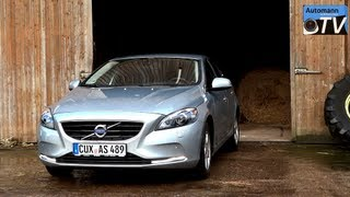 2013 Volvo V40 D2 Summum - Autobahn-Test (1080p Full Hd)