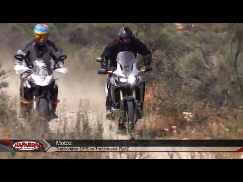 TESTED! Motoz Tractionator GPS 50 / 50 Adventure Tire Vs Rallz  Heidenau Killer
