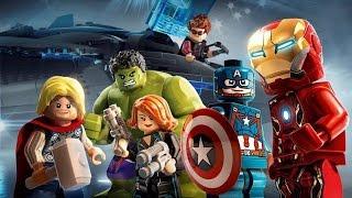 Прохождение игры LEGO MARVEL's Avengers Свободная игра. 48 эпизод АГЕНТ КАРТЕР И ЛУ ФЕРИНЬО