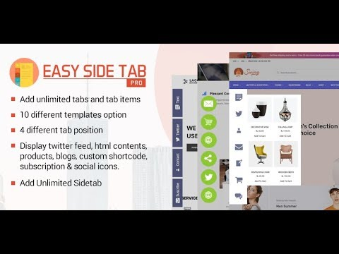 Easy Side Tab Pro: a WordPress Plugin to Display Responsive Floating Tab in  Your WordPress Website
