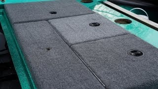Bass Boat Carpet Replacement - How To - Part II - Storage Compartment Lids