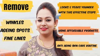 Anti Ageing Skin Care Step By Step With Affordable Products