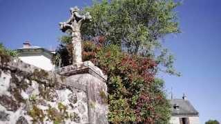 La Croix du pèlerin à Golinhac, dans l'Aveyron