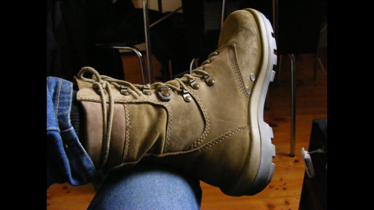 Terra Australian Army Combat Boots for Hiking - Reviewed - YouTube