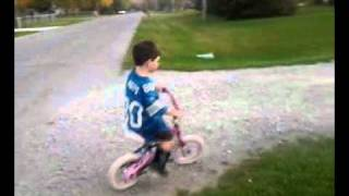 Kaleb Riding With No Training Wheels Thumbnail