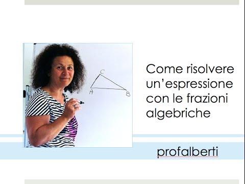 Moltiplicazioni e Divisioni di Frazioni Algebriche - MONOMI from YouTube · Duration:  11 minutes 34 seconds