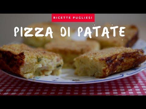 Ricetta Pizza di patate   Il Gateau di patate pugliese