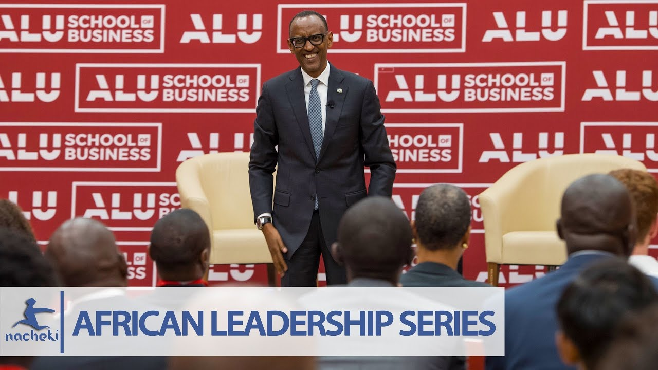 Kagame Speech Africa's Challenges Can Only be Solved by Africans