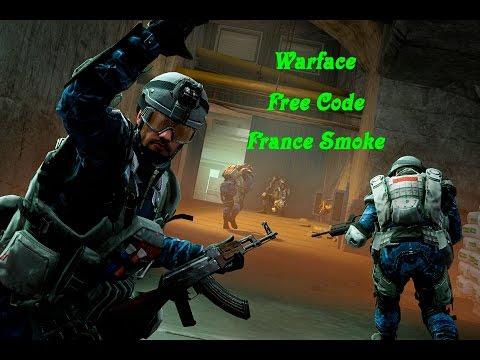 Warface Europe - Free Code - 3 Days France Smoke