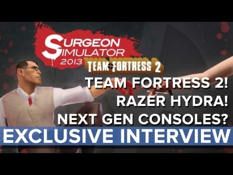 Surgeon Simulator 2013: Team Fortress 2 and Rift - Exclusive Interview - Eurogamer