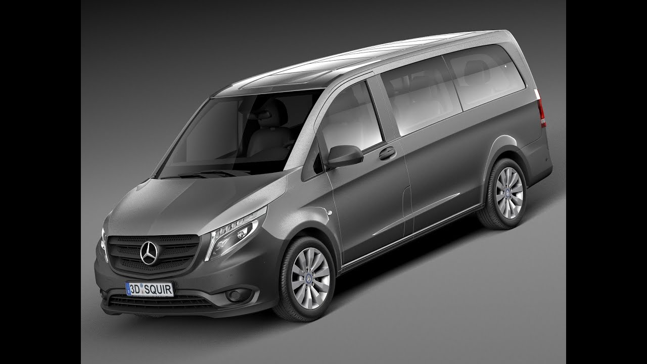 3d model mercedes benz vito tourer 2015. Black Bedroom Furniture Sets. Home Design Ideas