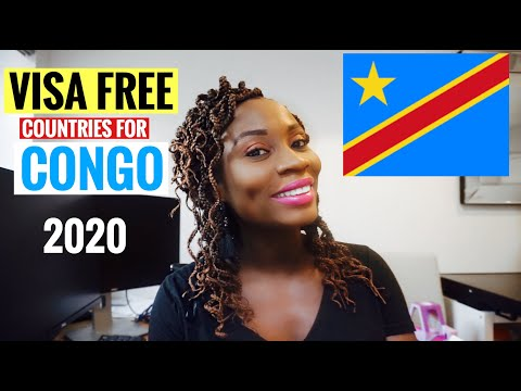 Visa Free Countries for Congo (DRC) Passport Holders | Countries Congolese can Visit Without visa
