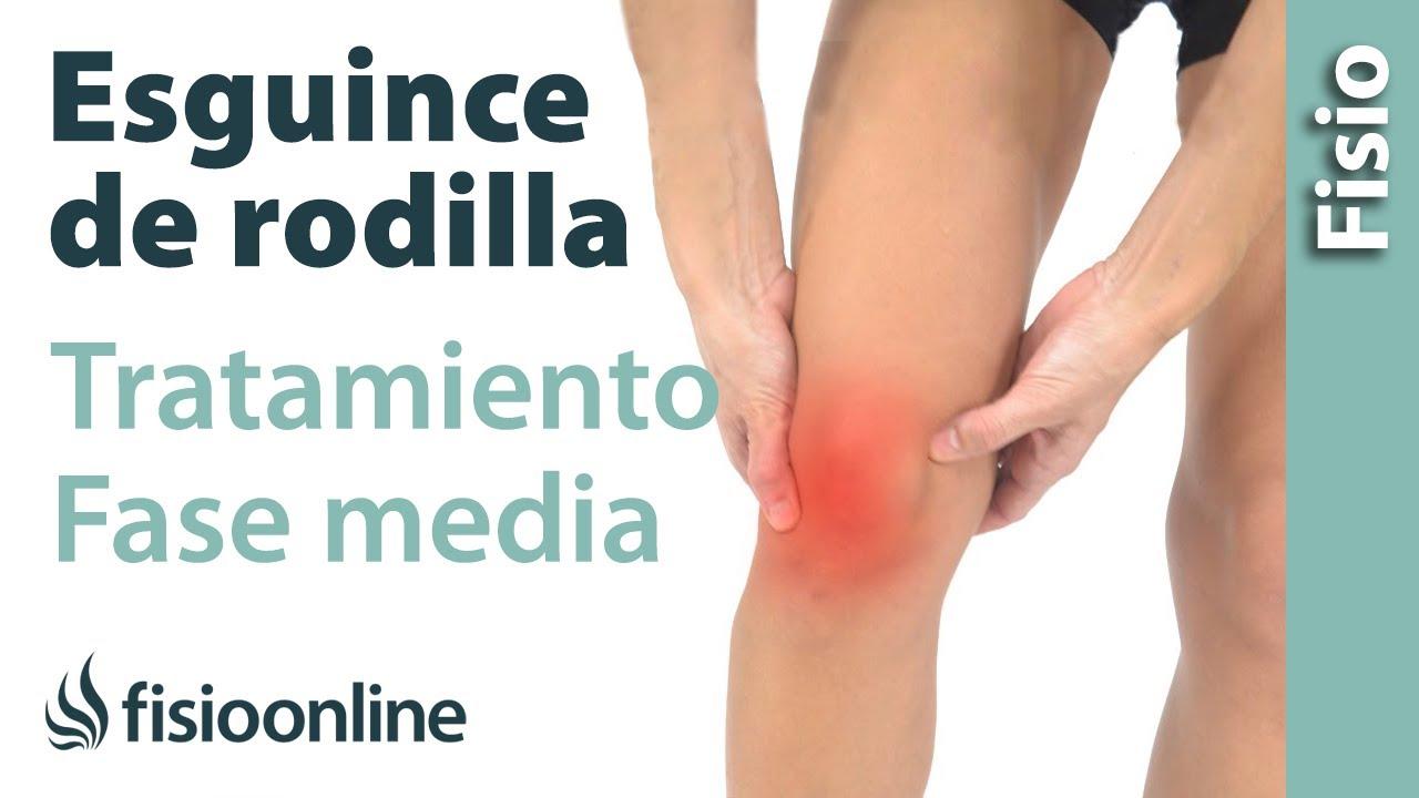 Esguince de ligamento lateral interno de rodilla tratamiento en su fase intermedia youtube - Dolor en la parte interior de la rodilla ...