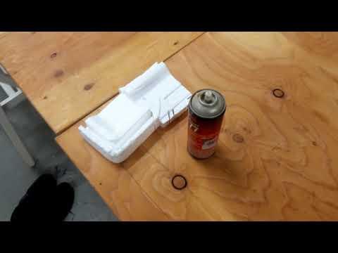 Super 77 contact glue test