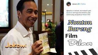 Nonton Bareng Film Dilan di Surabaya