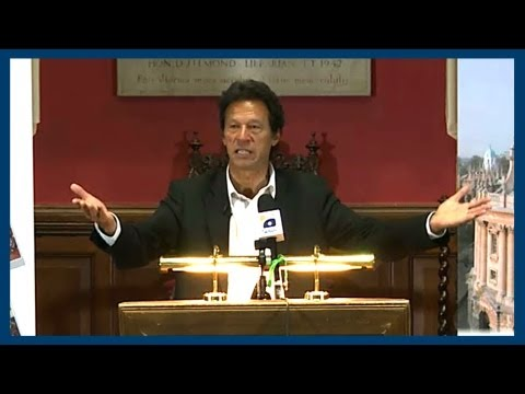 War On Terror | Imran Khan | Oxford Union