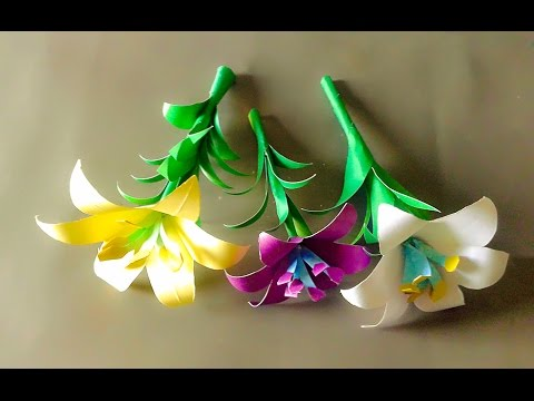 How To Make A Paper Flower Easyeasy Origami Hearteasy Tissue Paper