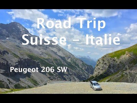 Road Trip 2015 Suisse Italie - Peugeot 206 SW - SJ4000