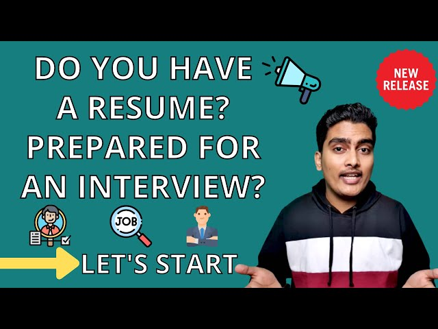 ⚡️Let's start with Resume and Interview Preparation | MBA Profile Building