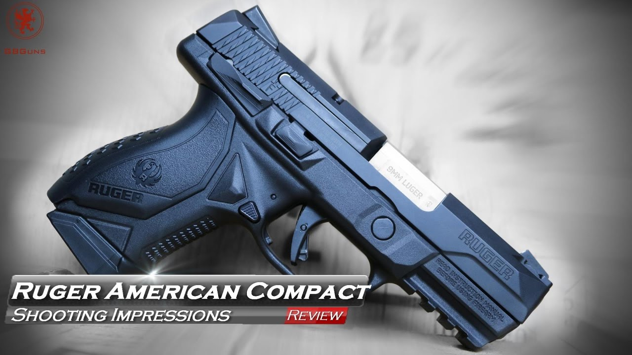 Ruger American Compact Shooting Impressions