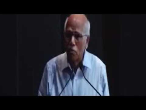 Truth is always suppressed - a speech by Dr BM Hegde