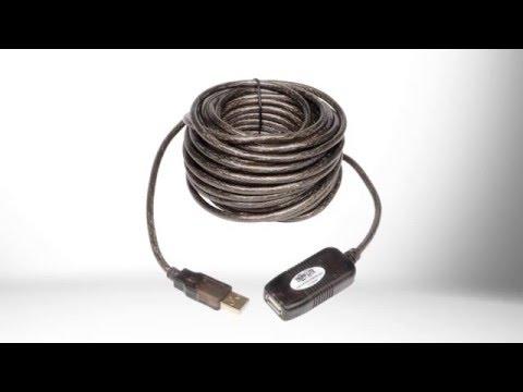 TRIPP LITE U026-10M USB 2.0 Active Extension//Repeater Cable U026-10M 10m