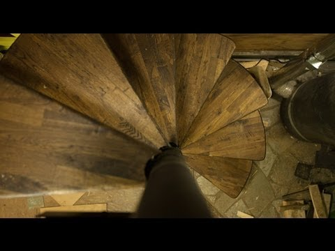 Spiral Staircase DIY   Ditch Life   Ep. 06   YouTube