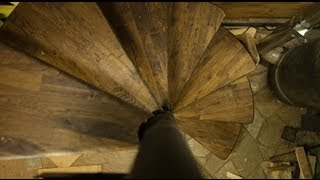 Spiral Staircase DIY - Ditch Life - ep. 06