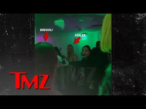 Bhad Bhabie Throws Water at Iggy Azalea & Starts A Fight!!!  TMZ