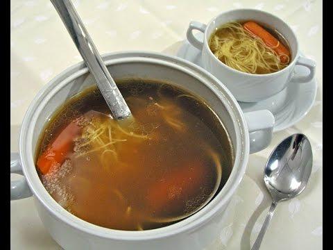 Goveđa juha s rezancima - Fini recepti