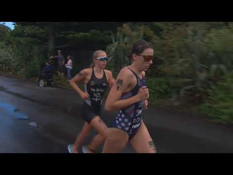 2018 ITU WC New Plymouth Women's Race