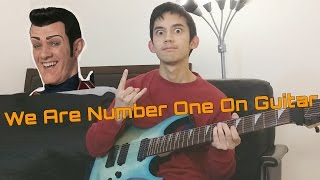We Are Number One But On Guitar (8-String/Metal/Djent)